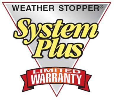 Weather Stopper System Plus Warranty