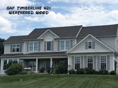 GAF Timberline HD Weathered Wood pm