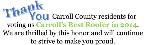 Thank You Carroll County residents